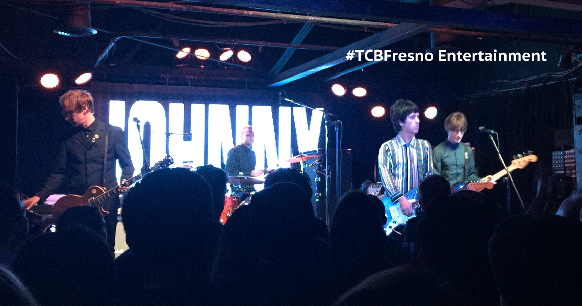 TCBFresno: Brit Pop Royalty Johnny Marr Holds Court at Strummer's
