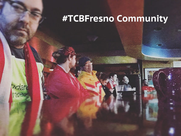 TCBFresno Community: 559FC, Fresno Reds Blurry Early Morning